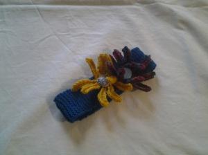 The finished headband