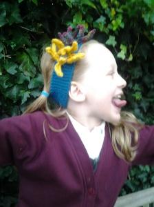 flowery headband