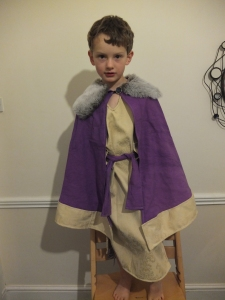 Another King tunic and cloak