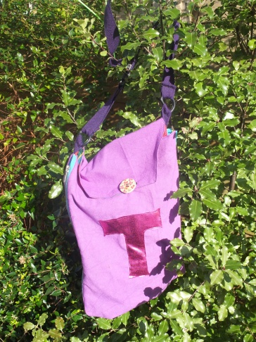 zip flat T bag