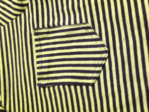check out the black stripes going right angles.  (it might distract you from the not so need pocket sides towards the top)