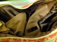 lining and inside pockets