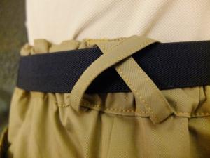 Back belt loop variation