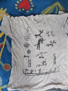 Much loved souvenir t shirt