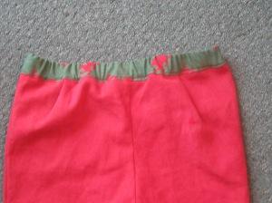 and a waistband