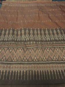 """75""""/190cm x 38""""/98cm border print silk"""