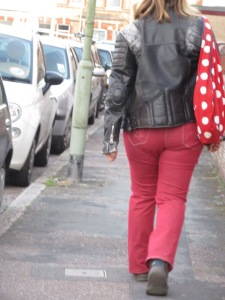There she was just a walking down the street...