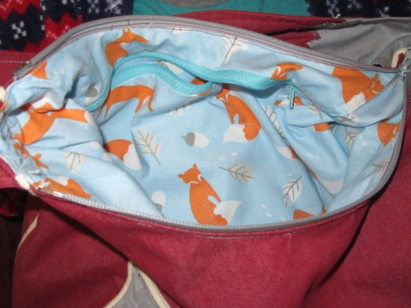 and a foxy lining