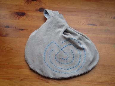 """""""Snail labyrinth elephant bag"""""""